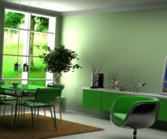 Зеленая столовая