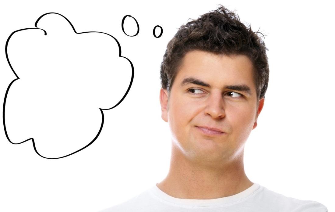 Мысль мелькает у мужчин не каждые 7 секунд а всего 19 раз в день