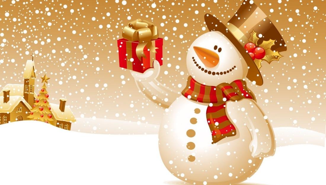 Новый год подарки и дед Мороз