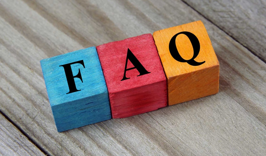 FAQ часто задаваемые вопросы
