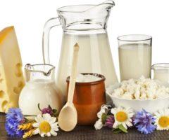 Таблица калорийности молочных изделий