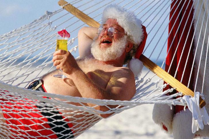 Где сейчас перемещается Санта Клаус