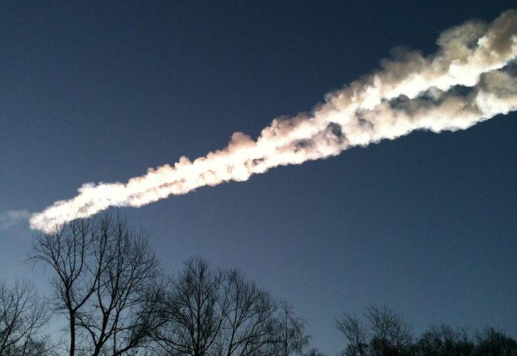 В небе над Челябинском произошел взрыв