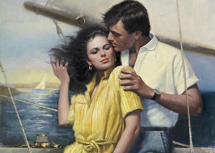 Фантазии женщины средних лет 8212 яхта