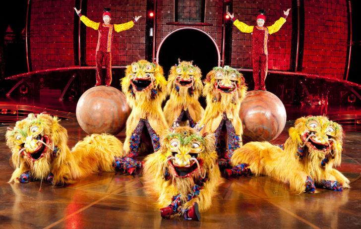 Шоу Цирка дю Солей в Крокус Сити Холле