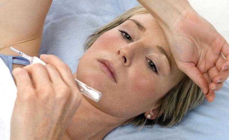 Чем опасна температура после родов