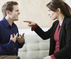 Семейный конфликт возникновение