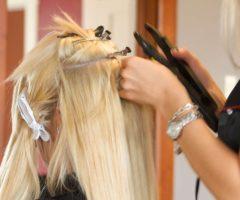 Наращенные волосы эффектно но хлопотно