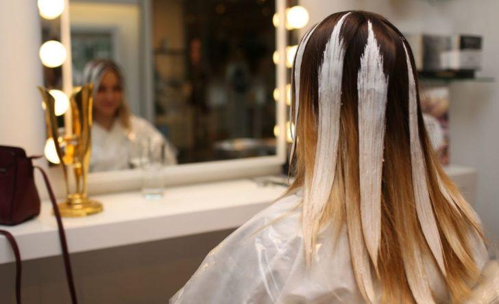 Окрашивание волос техникой омбре