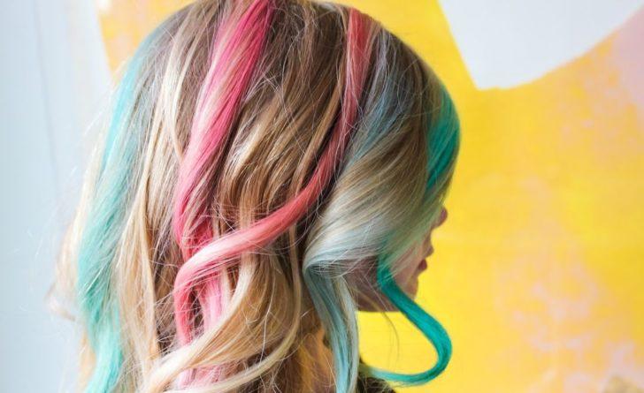Новые технологии окрашивания волос