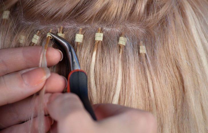 Восстановление волос после того как сняты наращенные локоны