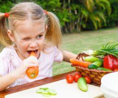 Дети вегетарианцев