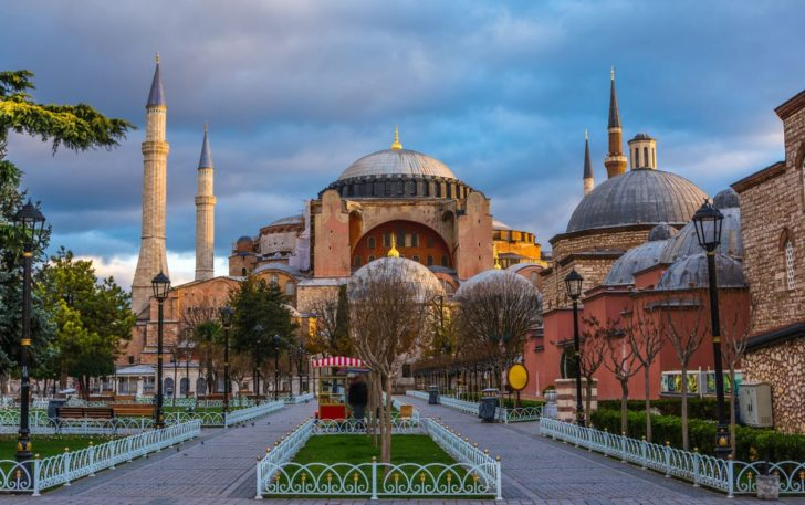 Стамбул  путеводитель по Собору Святой Софии